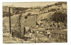 EARLY RPPC CRESSON GOLD MINE- CRIPPLE CREEK COLORADO CO  POSTCARD