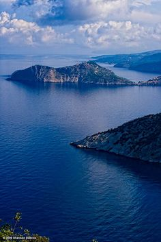 I love the geography of Greece with the cool, gentle waters with mountains and hills in the background.  Reminds me of perfection. #Kefalonia #Greece