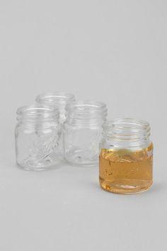 Mason Jar Shot Glass - Set Of 4 #urbanoutfitters