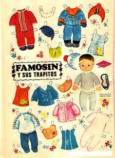 recortables de la revistas lily - recortablesmariquitascromostroquelados - Gabitos Paper Toys, Paper Crafts, Paper Dolls Printable, Vintage Paper Dolls, All Paper, Clay Dolls, Retro Toys, Baby Sewing, Doll Accessories