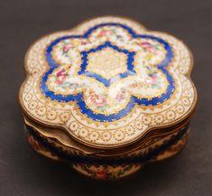 Sevres French porcelain box