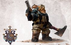Warhammer Dwarfs, Warhammer Aos, Kharadron Overlords, Warhammer Fantasy Roleplay, Cool Monsters, Sci Fi Characters, Dark Ages, Pen And Paper, Old World