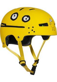 TSG Evolution-Cleptomanicx, Helmet, zitrone #Helmet #Skateboard #titus #titusskateshop