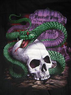 Snake & Skull T-Shirt.