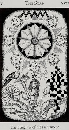 Hermetic Tarot- XVII - The Star