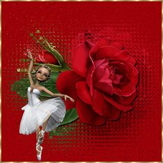 Bailarina da Rosa Vermelha # Ballerina of Rose Red