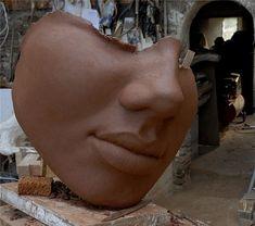 Gersandre côté face. Philippe Morel