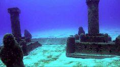 submerged Dwarka, Gulf of Cambay, India