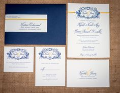 Blue & Yellow Wedding (I want pink instead of yellow!!) | Photo by Ace Photography | #CedarwoodWeddings
