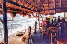 Cozumel, Mexico ... we had lunch here the only part of the inland with no power it was amazing I want to live here