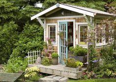 15 Cool Garden Sheds That Make Any Garden Better | Shelterness