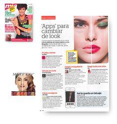 Revista Mía mayo 2016. Aplicación de Maquillaje Virtual de Mary Kay. #MaryKay #MaryKayEspaña #App #Aplicación #Looks #Maquillaje #Belleza #Medios #Revistas #Revista