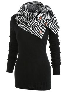 online shopping for Newnessshop Pullover Sweater Women Buttons Crew Neck Long Sleeve Sweater Winter Knitting from top store. See new offer for Newnessshop Pullover Sweater Women Buttons Crew Neck Long Sleeve Sweater Winter Knitting Tunic Sweater, Long Sleeve Sweater, Pullover Sweaters, Women's Sweaters, Big Sweater, Cheap Sweaters, Black Sweaters, Sweaters For Women, Oversized Sweaters