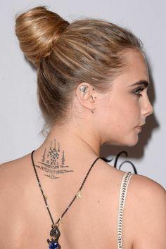 Avoir toujours diamant sur les oreilles cool tatouage oreille femme tatto caché idée helix