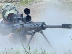 #9 — Barrett .50 Caliber Sniper Rifle