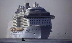 Έφτασε στη Βρετανία το τρίτο μεγαλύτερο κρουαζιερόπλοιο του κόσμουΤο «Anthem of the Seas» («Ύμνος των Θαλασσών»),