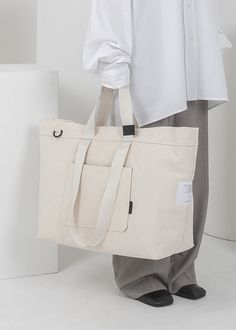 INSIDE-OUT IVORY, Tote x shoulder x cross