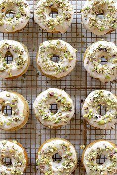 Brown Butter Pistachio Doughnuts. 'Nuff Said. — Delicious Links