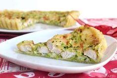 » Torta salata con pollo e zucchine Ricette di Misya - Ricetta Torta salata con pollo e zucchine di Misya