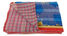#Vintage Kantha Throws quilt  # Handmade kantha stitch Blanket Throws Quilt Home Decor Bedspread Gudari  #Boho Home Decor