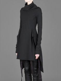 black/leather pants