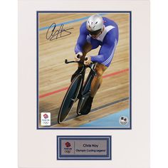 Strong-Willed Sir Chris Hoy Signed 10x8 Framed Photo Display Olympic Cycling Memorabilia Coa Olympic Memorabilia