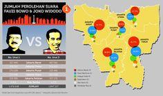 Perolehan suara Pilkada DKI Jakarta Putaran 1