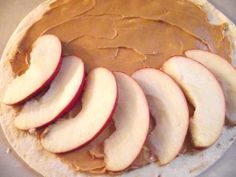 Peanut Butter and Apple Quesadillas