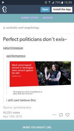 I prefer the politics in Norway