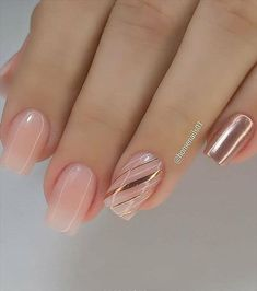50 Beautiful Summer Short Square Nails Recommended - Latest Fashion Trends For Woman Elegant Nails, Classy Nails, Stylish Nails, Fancy Nails, Trendy Nails, Pink Nails, Square Nail Designs, Pretty Nail Designs, Pretty Nail Art