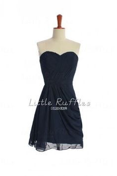 Hey, I found this really awesome Etsy listing at http://www.etsy.com/listing/160064554/navy-bridesmaid-dress-short-bridesmaid