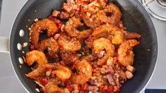 With smoky garlicky shrimp on a bed of rich cheesy grits, this Shrimp and Grits recipe is easy delicious comfort food at its best. Whole30 Recipes Lunch, Quick Lunch Recipes, Easy Whole 30 Recipes, Shrimp Recipes Easy, Chicken Parmesan Recipes, Seafood Recipes, Curry Recipes, Beef Recipes, Easy Shrimp And Grits