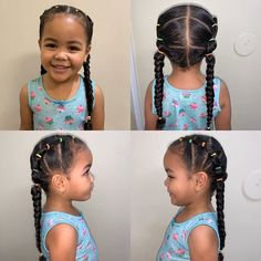 Little Mixed Girl Hairstyles, Baby Girl Hairstyles, Natural Hairstyles For Kids, Toddler Hairstyles, Biracial Hair Care, Curly Hair Styles, Natural Hair Styles, Natural Curls, Mixed Hair
