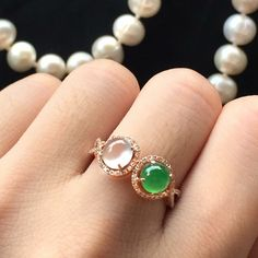 Silver Jewelry With Diamonds Raw Crystal Jewelry, Gold Rings Jewelry, Jewelry Design Earrings, Jade Jewelry, Diamond Jewelry, Gemstone Jewelry, Jewelry Accessories, Jewellery, Jade Ring