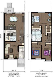 Maisons de ville Aylmer - Alexma Construction - Plan #2