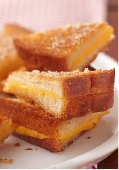 Ultimate Crispy Grilled Cheese Sandwiches