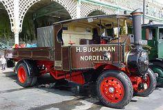 1924 FODEN C steam lorry