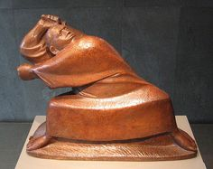 Ernst Barlach (1870-1938) - Der Berserker (1910)