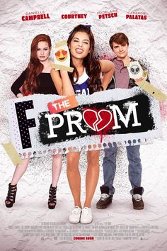 Joel Courtney, Danielle Campbell, and Madelaine Petsch in F*&% the Prom Films Hd, Comedy Movies, Hd Movies, Movies Online, 2017 Movies, Movie Tv, Netflix Movies To Watch, Movie To Watch List, Movie List
