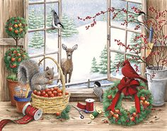 Kathy Goff: Christmas in the potting shed