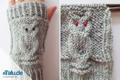 In this simple DIY guide, we will show you how to knit arm warmers yourself. The highlight is the trendy owl pattern. Informations About Armstulpen stricken – einfache DIY-Anleitung für Eulenmuster - Owl Patterns, Knitting Patterns, Crochet Patterns, Patterned Socks, Arm Knitting, Knitting Projects, Diy Tutorial, Arm Warmers, Easy Diy