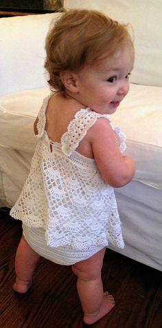 Baby Girl Sundress Onesie