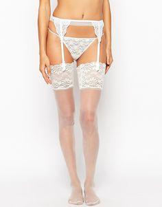 ASOS+Bridal+Lace+Top+Stockings