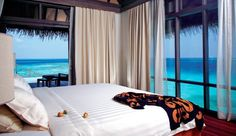 Coco Palm Bodu Hithi: Soak up the awesome views from floor-to-ceiling windows in the Water Villas.