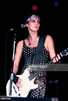 Joan Jett at the Holiday Star Theater in Merrillville Indiana December 3 1986 Joan Jett, Merrillville Indiana, Cherie Currie, Rocker Girl, Patti Smith, Debbie Harry, Running Away, David Bowie, Punk Rock