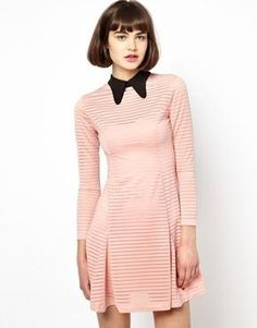 Antipodium Sweet Valley Polo Dress with Contrast Collar