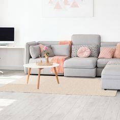 Puha, csavart szálas szőnyeg, mely bármely helyiség dísze lehet, legyen az akár nappali vagy hálószoba. Love Seat, Couch, Beige, Furniture, Home Decor, Settee, Decoration Home, Sofa, Room Decor