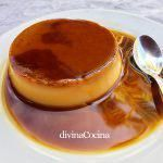 Flan de naranja fácil