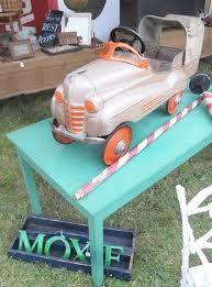 very rare pedal car