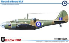 Ww2 Aircraft, Military Aircraft, Fighting Plane, Plane And Pilot, Ww2 Planes, Cutaway, Pilots, World War Two, Baltimore